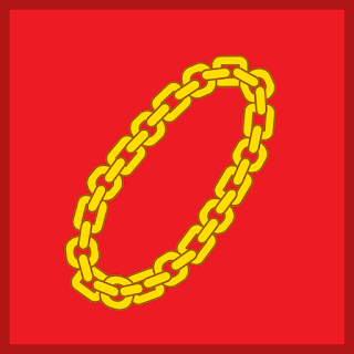 Lambang Sila 2 : Rantai Emas yang Disusun atas Gelang-Gelang Kecil