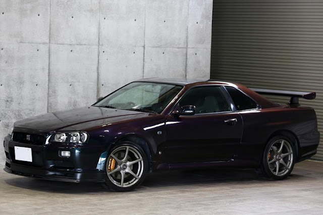 For Sale : 1999 Nissan Skyline GT-R Vspec Midnight Purple II
