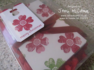 Finished cards in a box by Jemini Crafts
