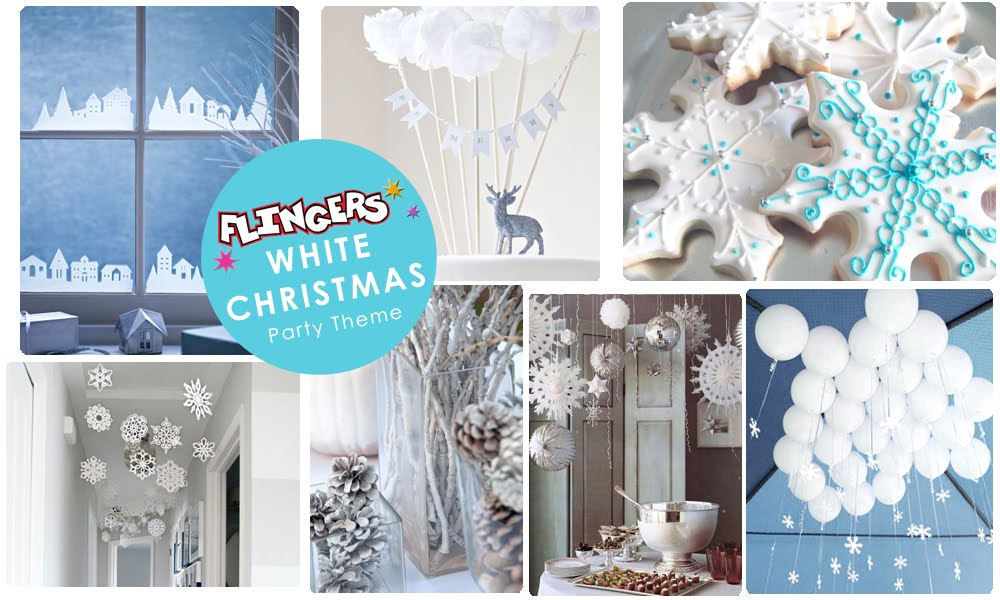 Flingers Party Blog White Christmas Ideas. White Christmas Party Decoration  sc 1 st  Credainatcon.com & White Christmas Party Decorations | Credainatcon.com