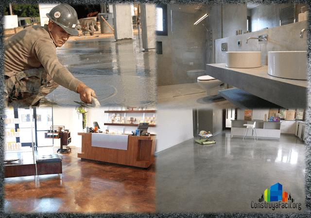 cemento pulido - Pisos de cemento pulido