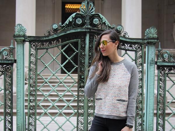 Tweed Sweaters