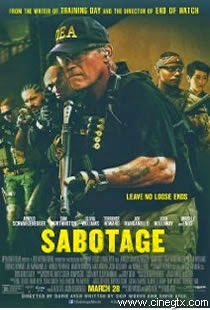 Pelicula Sabotage