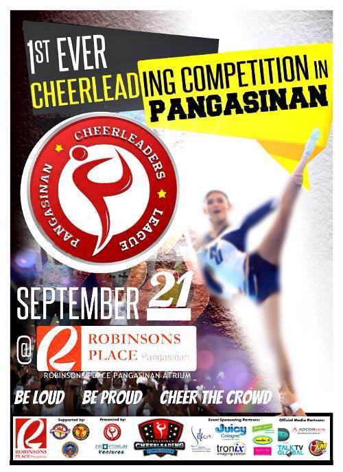 Pangasinan Cheerleading Competition 2013