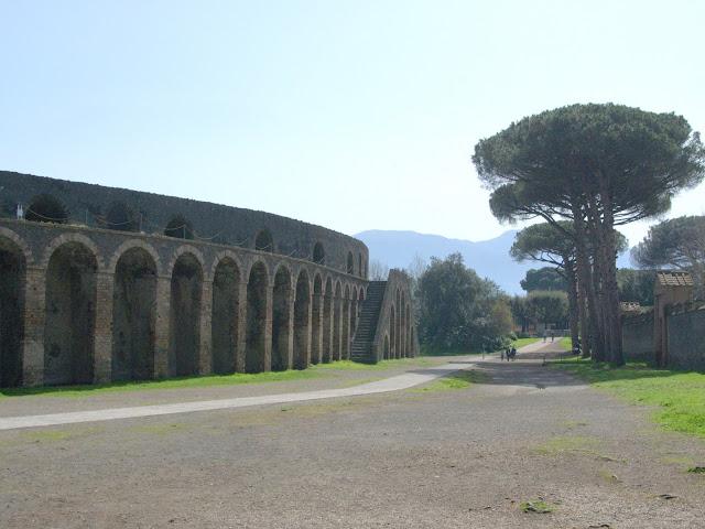 amfiteatr Pompeje, jak wygląda?