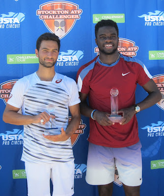 Tiafoe, 18, cracks top 100 with Stockton title
