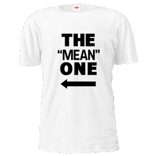 the mean one slogan tees