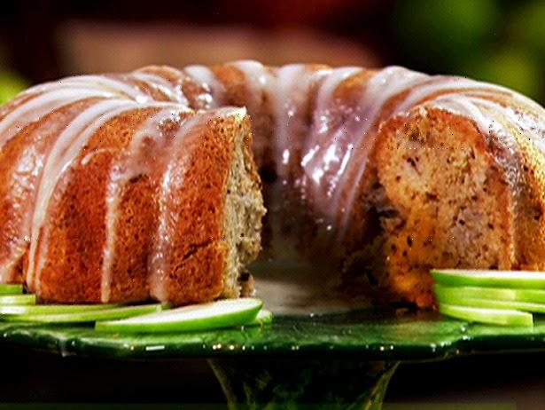 Apple Cake With Honey Glaze Paula Deen