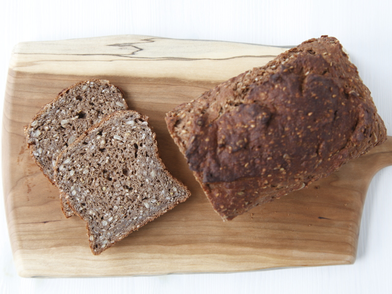 Learning To Eat Allergy Free Bob S Red Mill Hearty Whole Grain Bread Mix