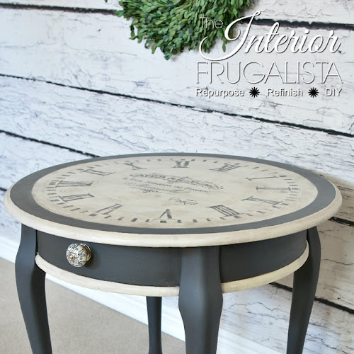 Old World Clock Face Table With An Identity Crisis
