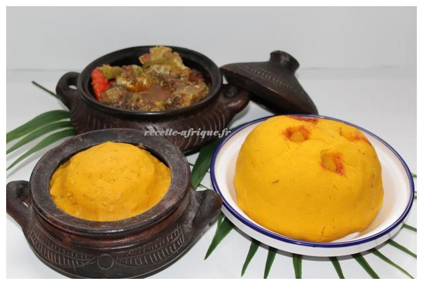 Recette De Foufou Recettes Ivoiriennes Cuisine D Afrique Et D