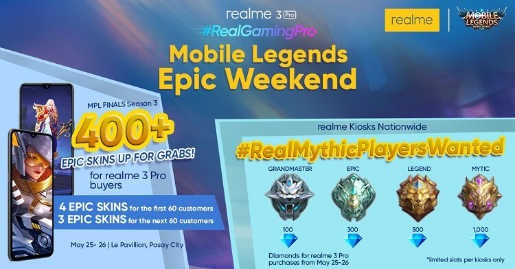 Realme Philippines Intros Mobile Legends Epic Weekend