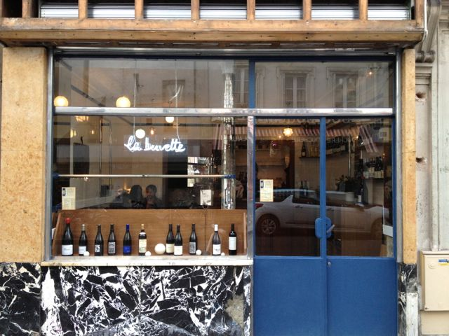 not drinking poison in paris: call it a caviste: la buvette