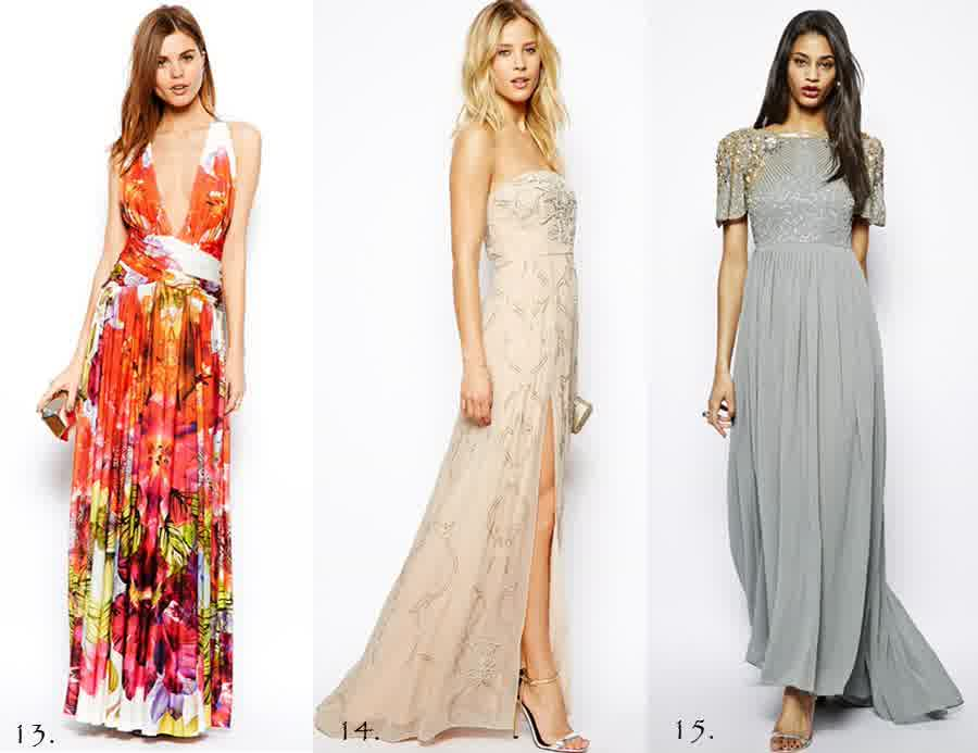 Formal Party Evening Wedding Guest Dresses  Prom gowns