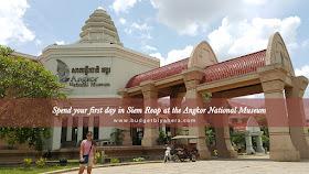 Angkor National Museum - Budget Biyahera
