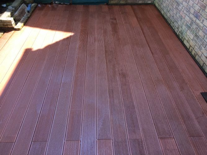 composite decking dorking