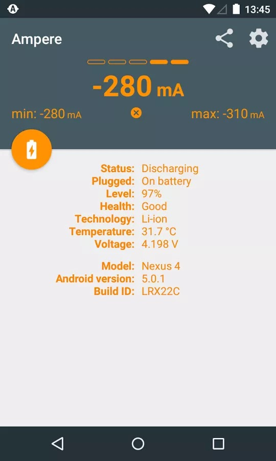Ampere App -Verify Original Charger For Your Android Phone