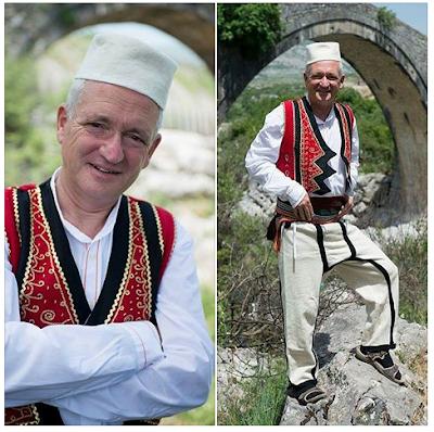 Incredibile storia del canadese che sarà sepolto sulle Alpi Albanesi