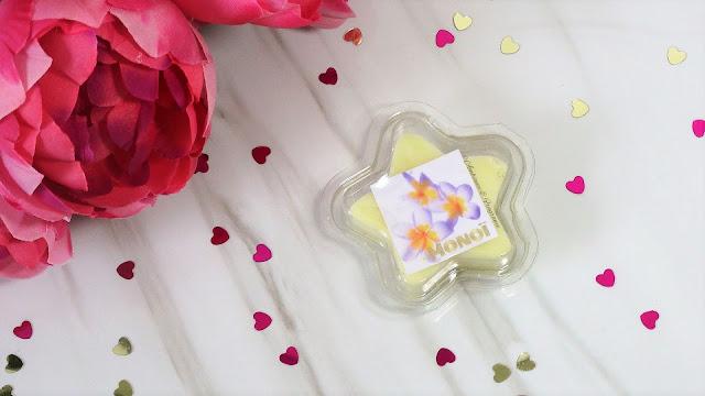 avis  étoile fondante parfumée Monoï de MySweetiesCandles
