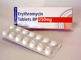 سعر ودواعى إستعمال إريثرومايسين Erythromycin أقراص مضاد حيوى واسع المجال