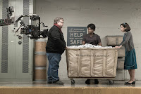 Guillermo del Toro, Octavia Spencer and Sally Hawkins on the set of The Shape of Water (4)