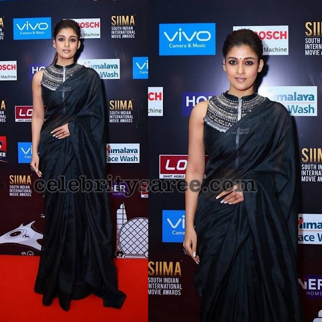 Nayantara at SIIMA Awards 2017
