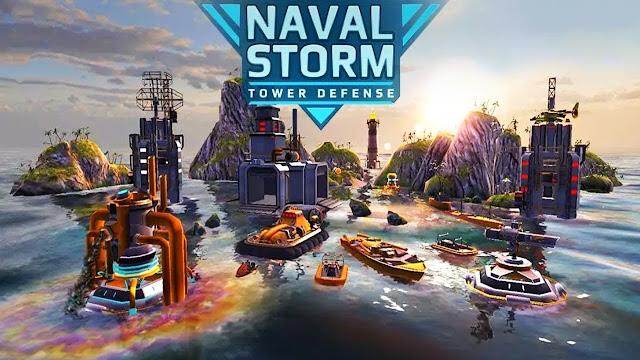 Naval Storm TD v0.8 APK MOD Dinheiro Infinito Full