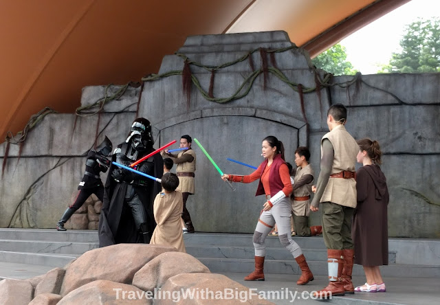 Jedi Training Academy show at Hong Kong Disneyland
