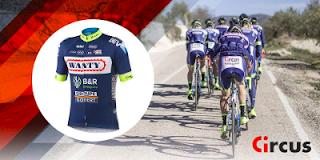 circus Sorteo Maillot Tour de Francia 2017 equipo WANTY GROUP GOBERT