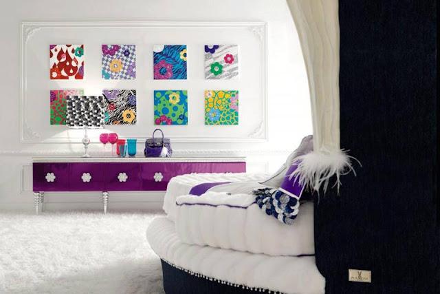 Diseños de Dormitorios Colores Femeninos