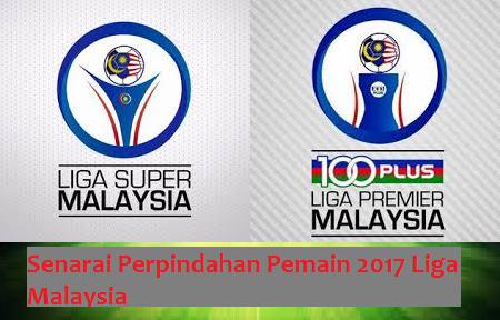 Senarai Perpindahan Pemain 2017 Liga Malaysia