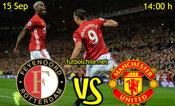 Ver stream hd youtube facebook movil android ios iphone table ipad windows mac linux resultado en vivo, online: Feyenoord vs Manchester United
