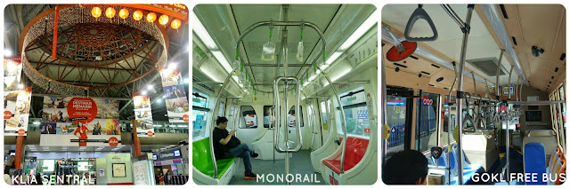 KL Sentral, Monorail, GoKL Free Bus, Transportation
