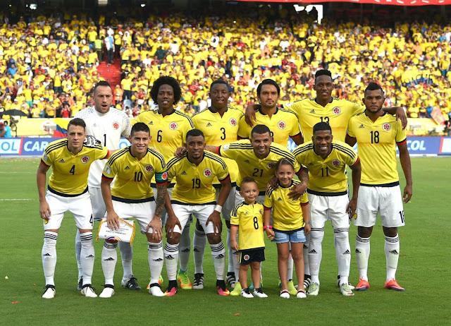 Formación de Colombia ante Chile, Clasificatorias Rusia 2018, 10 de noviembre de 2016