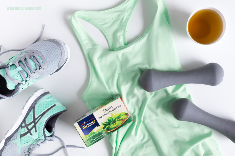 Fitness Flatlay fuer Messmer #ProjectFeelgood