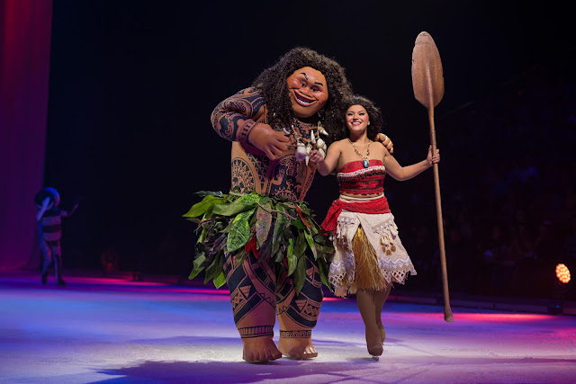 Disney on Ice presents Dream Big review - Moana and Maui