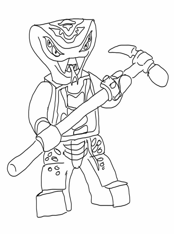 Kids Page: Lego Ninjago Coloring Pages