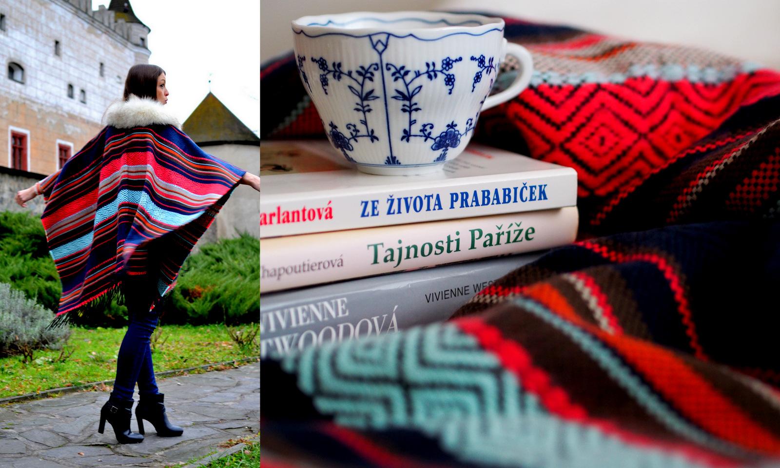 DIY: ako vyrobiť z ponča deku // from poncho to blanket