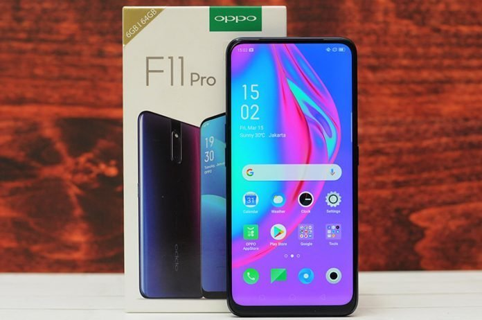4 Main Features Oppo F11 Pro