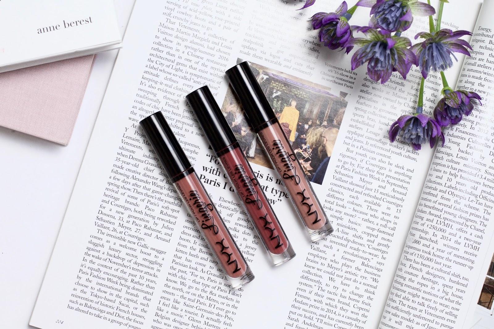 NYX Lingerie Liquid Lipsticks