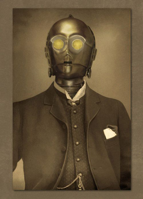 Formal picture of C-3PO