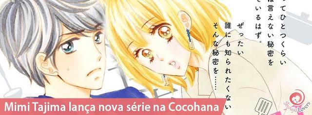 Mimi Tajima lança novo mangá josei na Cocohana