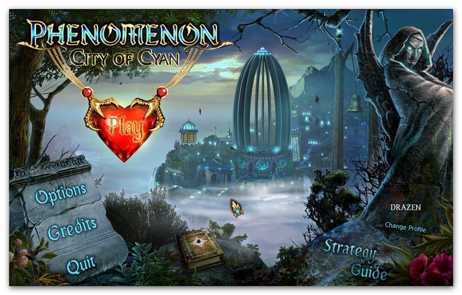 Drazenbg: Phenomenon: City Of Cyan