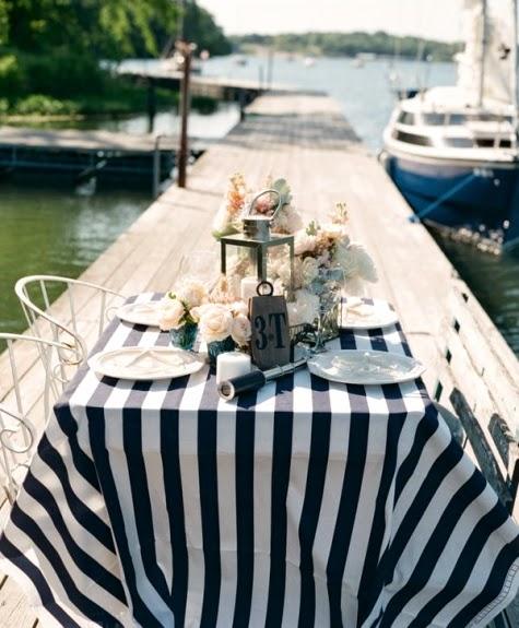 The Art Of Coastal Outdoor Entertaining U0026 Dining. Beach Decor Ideas Nautical  ...