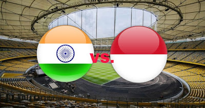 Live Streaming India vs Indonesia Kejohanan B-16 AFC 27.9.2018