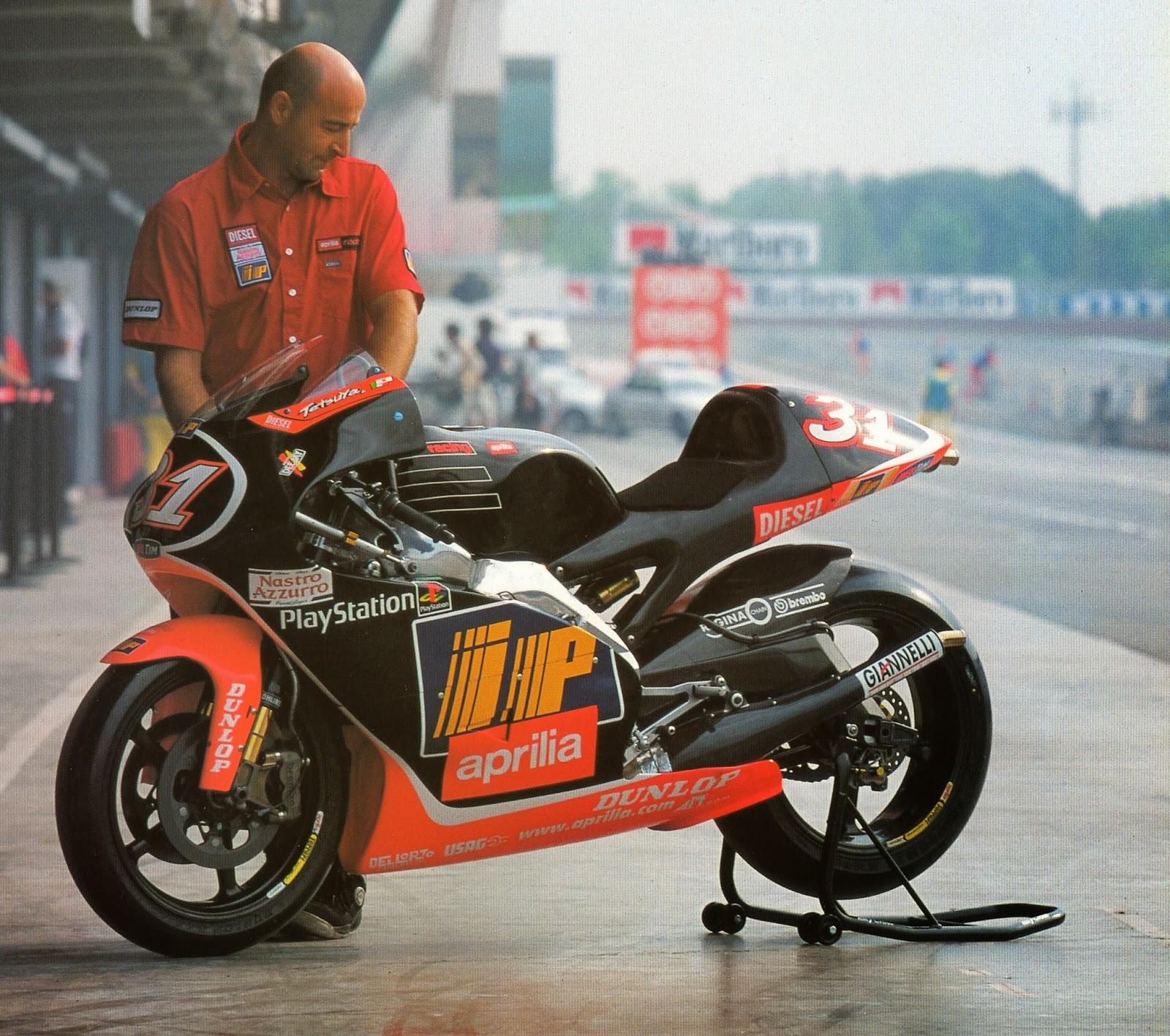 Racing Caf U00e8  Aprilia Rsw 500 Tetsuya Harada 1999