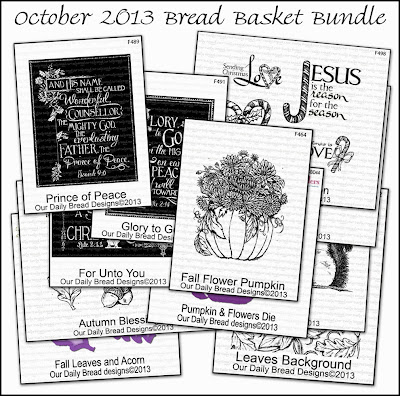 Stamps - Our Daily Bread Designs October 2013 Bread Basket Bundle