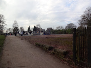 Petanque and Boules Terrain at Alexandra Park in Stockport
