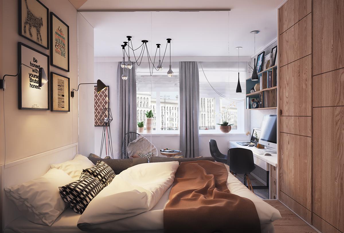 small apartment bedroom design ideas studio