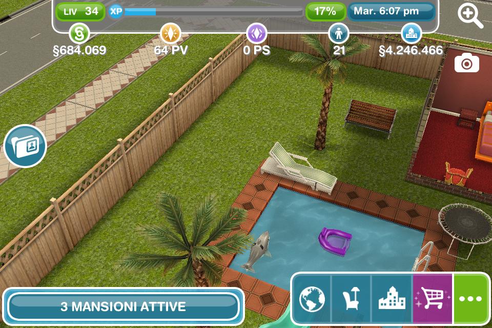 Ponderare Su Una Sedia A Sdraio.Cose Da Gamer The Sims Free Play Sedia Reclinabile